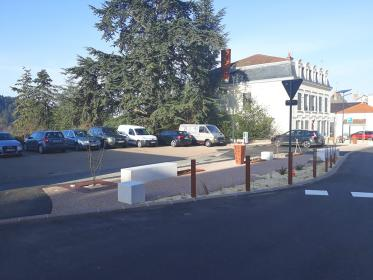 Aménagement de parking